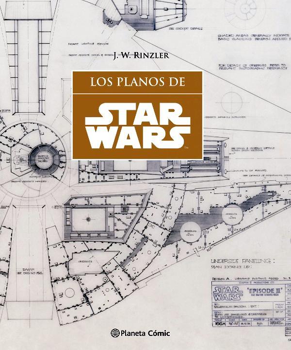 Portada de Los planos de Star Wars