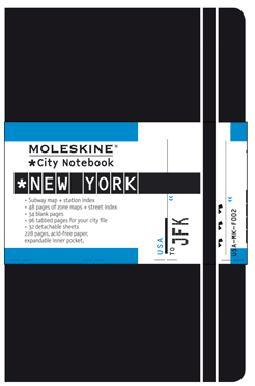 Portada de Moleskine City de New York