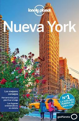 Portada de Nueva York guías de ciudad Lonely Planet