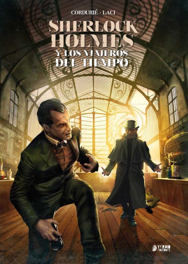 Portada de Sherlock Holmes y los viajeros del tiempo