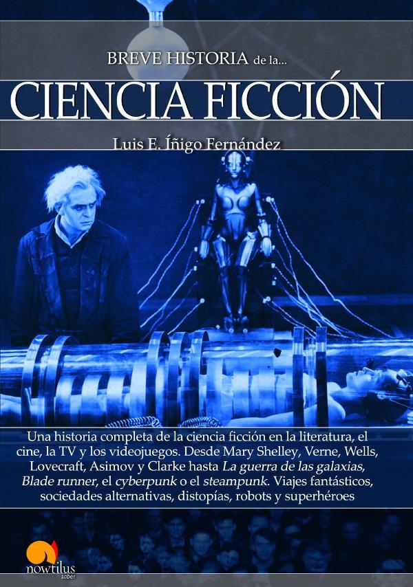 Portada de Breve historia de la Ciencia Ficción