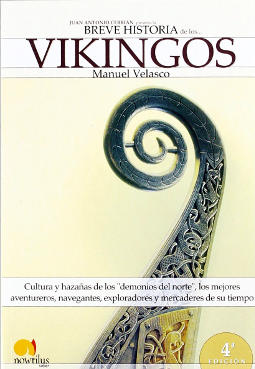 Portada de Breve historia de los vikingos