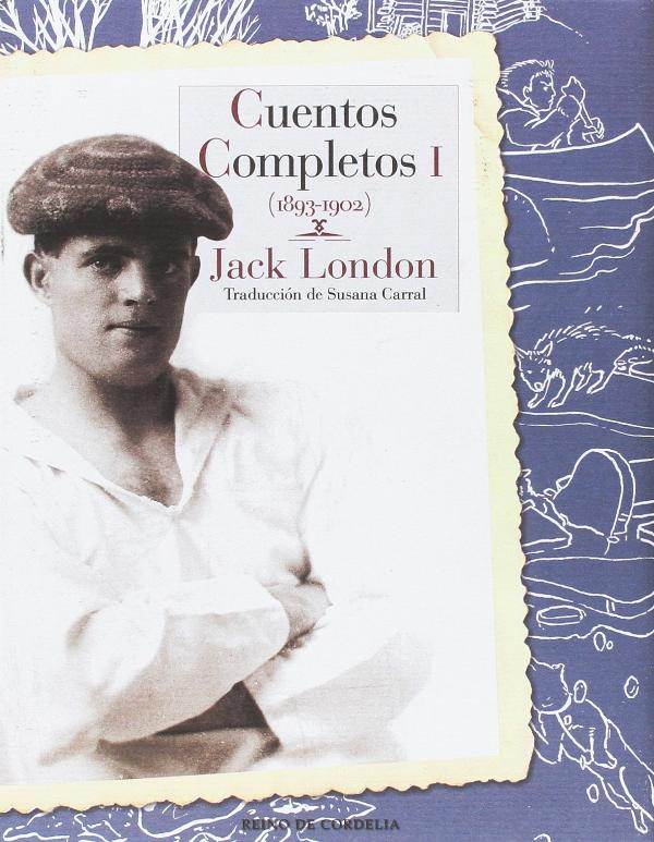 Portada de Cuentos completos de Jack London
