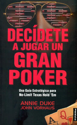 Portada de Decídete a jugar un gran poker