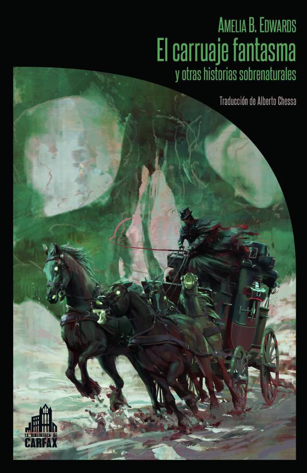 Portada de El carruaje fantasma y otras historias sobrenaturales