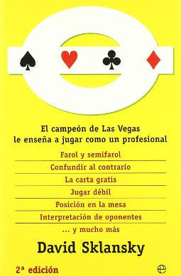 Portada de Ganar al póker