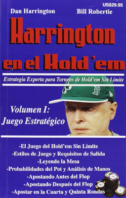 Portada de Harrington en el Hold'em