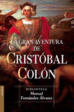 Portada de La gran aventura de Cristóbal Colón