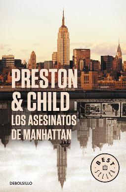 Portada de Los asesinatos de Manhattan (Inspector Pendergast 3)