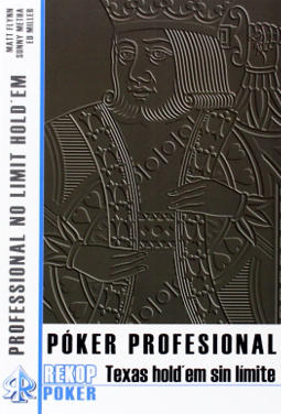 Portada de Póker profesional Texas Hold_em sin límite