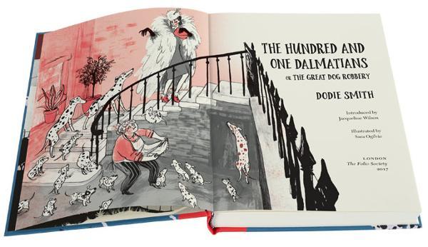 Ilustraciones de The Hundred and One Dalmatians