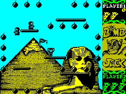 Captura videojuego Bomb Jack