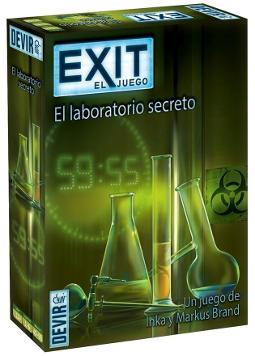 Portada de El laboratorio secreto