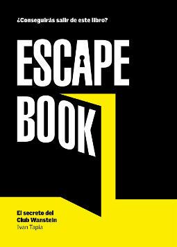 Portada de Escape book El secreto del Club Wanstein
