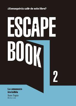 Portada de Escape Book La amenaza invisible