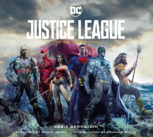 Portada de Justice League The Art of the Film