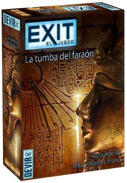 Portada de La tumba del faraón
