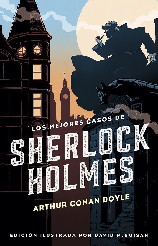 Portada de Los mejores casos de Sherlock Holmes