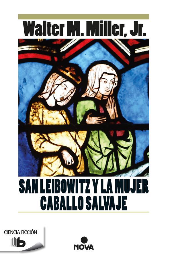 Portada de San Leibowitz y la mujer caballo salvaje