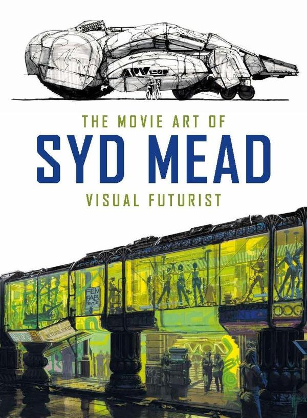 Portada de The Movie Art of Syd Mead