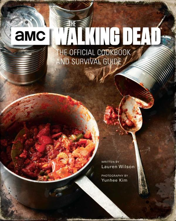Walking Dead The Official Cookbook portada captura