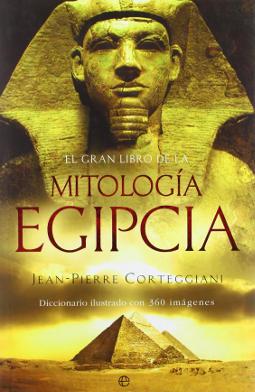 Portada de El gran libro de la mitología egipcia