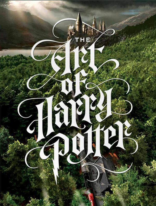 Portada de The Art of Harry Potter