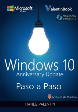 Portada de Windows 10 paso a paso Anniversary Update