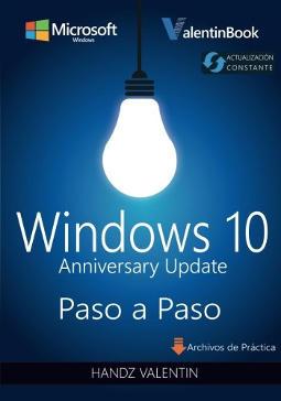 Portada de Windows 10 paso a paso Anniversary Update