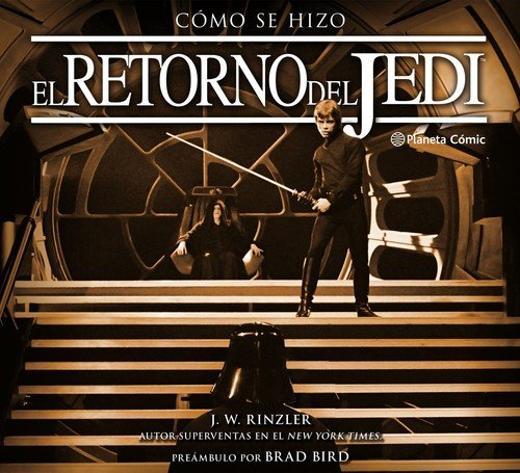 Portada de Cómo se hizo El retorno del Jedi