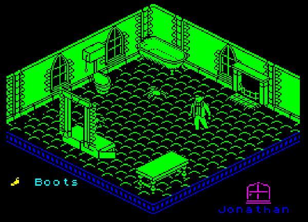 Pantalla de Nosferatu the Vampyre videogame
