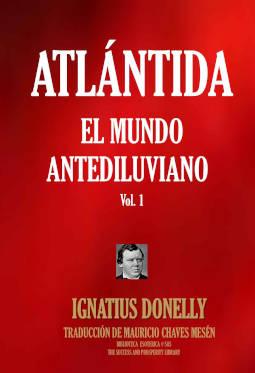 Portada de Atlántida, el mundo antediluviano