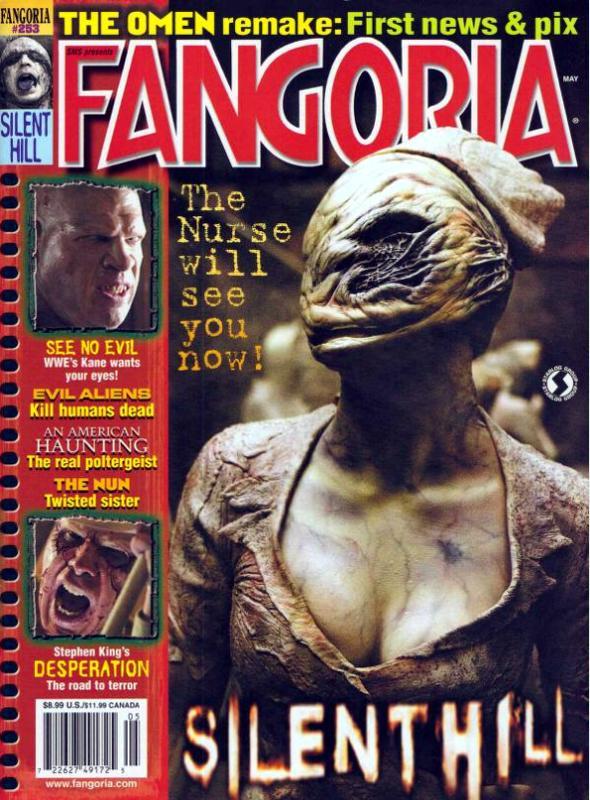 Portada de la revista Fangoria