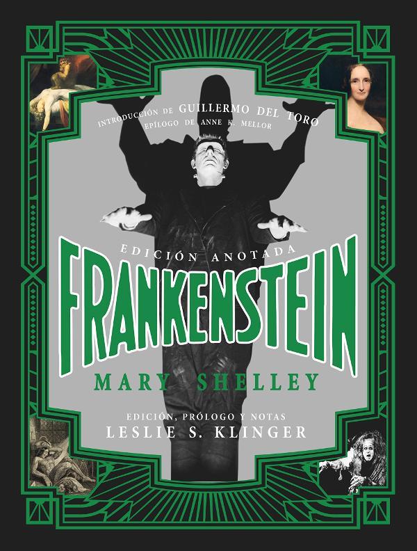 Portada de Frankenstein Anotado