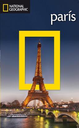 Portada de Guía de viaje National Geographic París