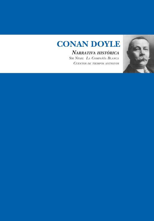 Portada de Narrativa Histórica de Arthur Conan Doyle