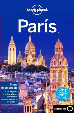 Portada de París (Guías de Ciudad Lonely Planet)