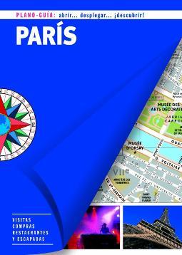 Portada de París plano guía