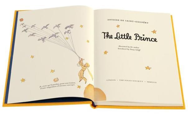 Portada de The Little Prince