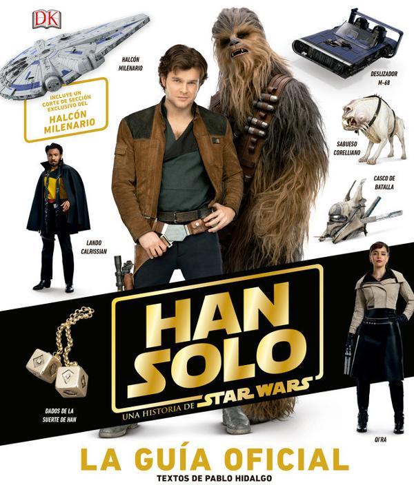 Portada de Han solo, una historia de Star Wars La Guía oficial