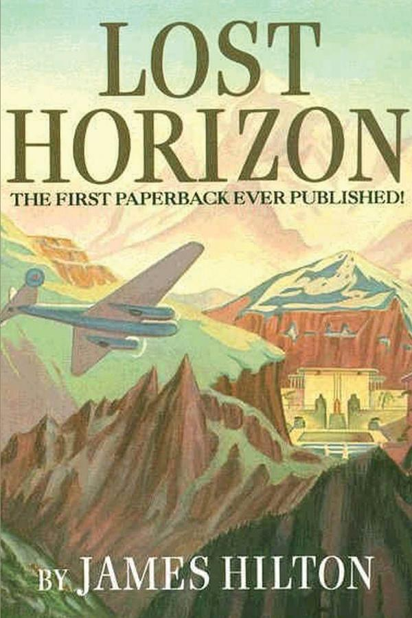 Portada de Lost Horizon de James Hilton