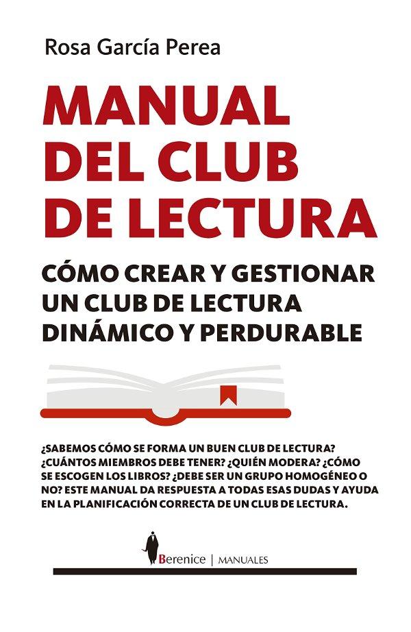 Portada de Manual del clubes de lectura