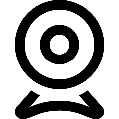 Icono de webcam