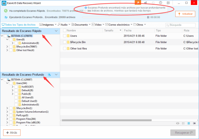 EaseUS Data Recovery Wizard Free 12