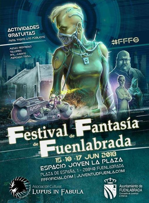 Portada del Festival de Fantasía de Fuenlabrada
