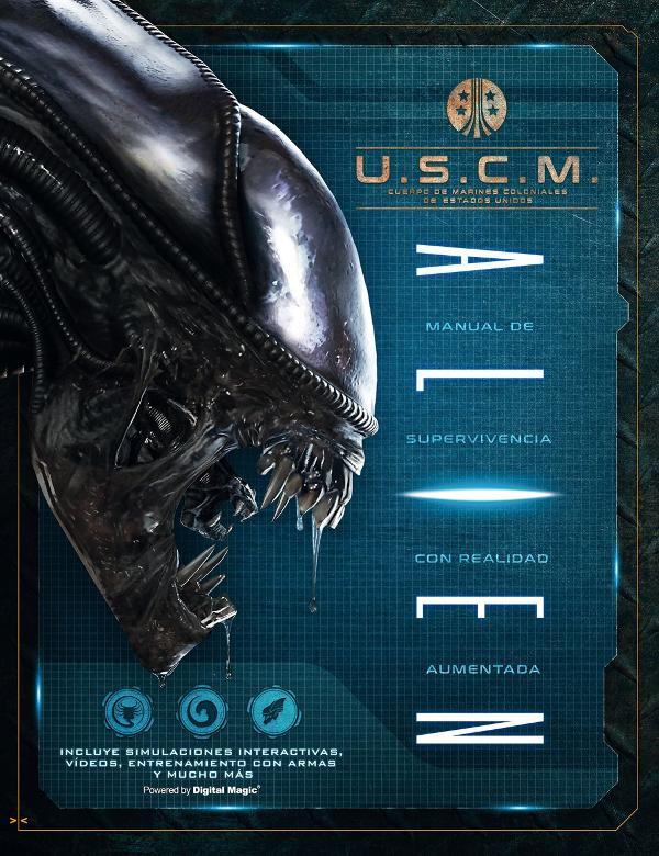 Portada de Alien manual de supervivencia con realidad aumentada
