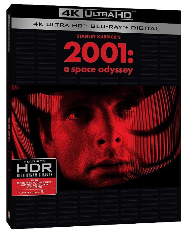 Carátula de 2001 a space odyseey 4K