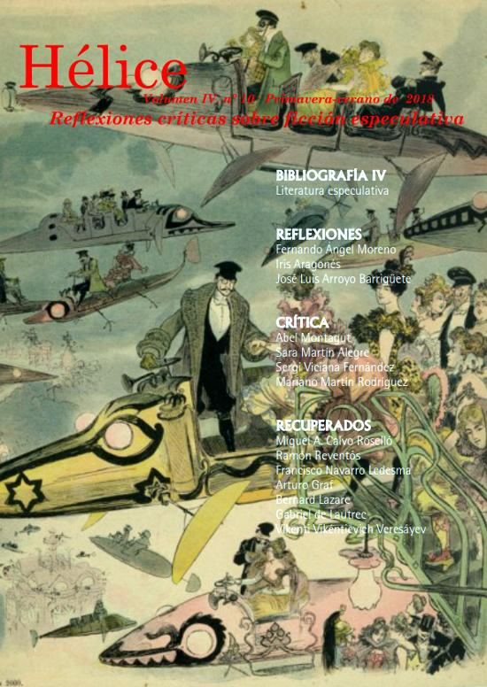 Portada de la Revista Hélice 24