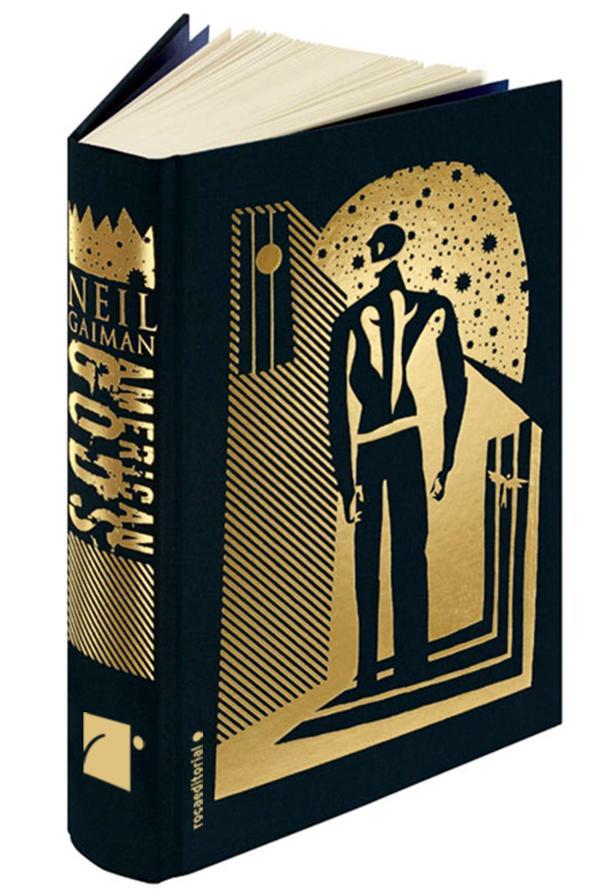 Portada de American Gods edición ilustrada