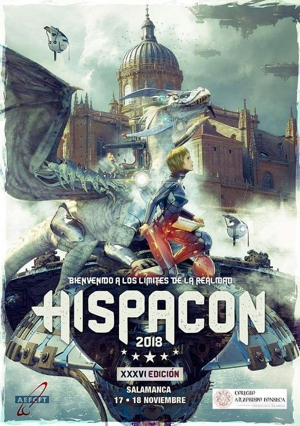 Cartel de la Hispacon 2018